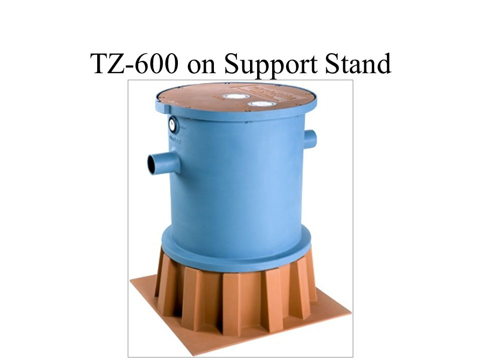 TZ-600 on Support Stand