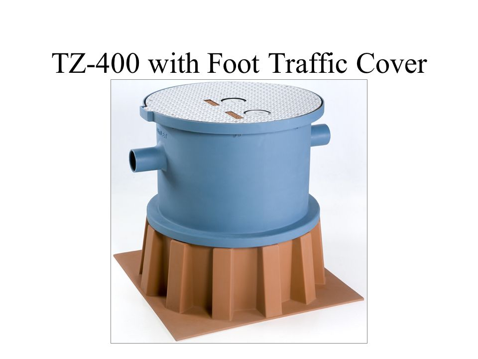TZ-400 with Foot Traffic Cover