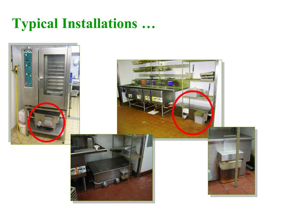 Typical Installations …