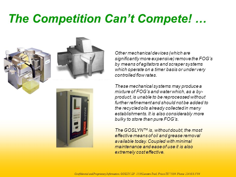 The Competition Can't Compete! …