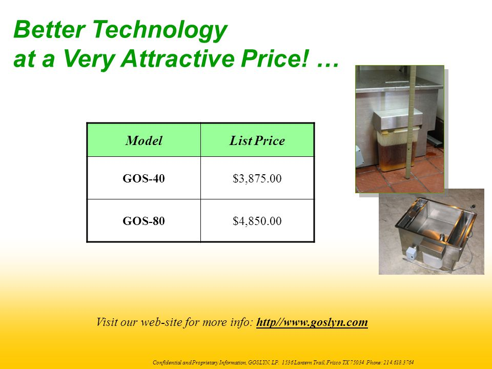 at a Very Attractive Price! …