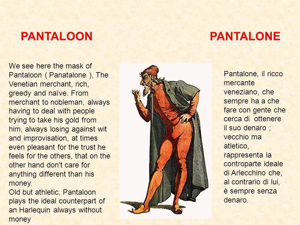 PANTALOON PANTALONE.