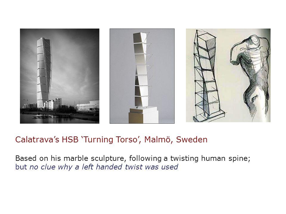 Calatrava's HSB 'Turning Torso', Malmö, Sweden