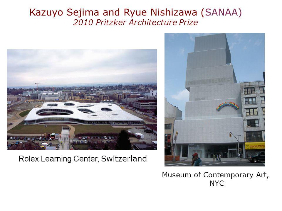 Kazuyo Sejima and Ryue Nishizawa (SANAA)