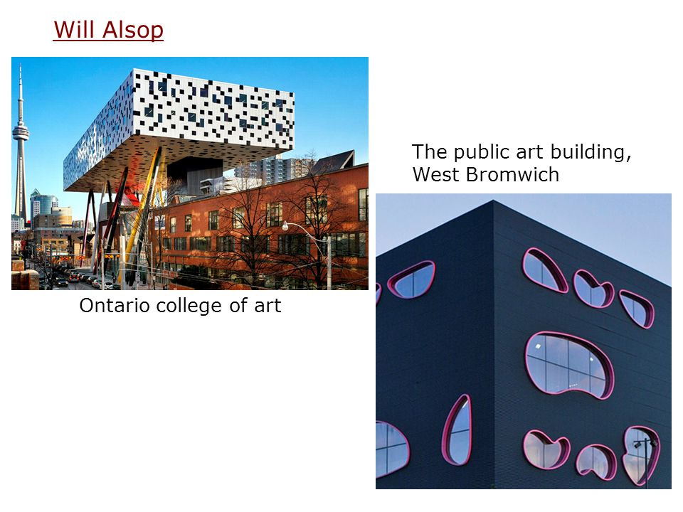 Will Alsop The public art building, West Bromwich