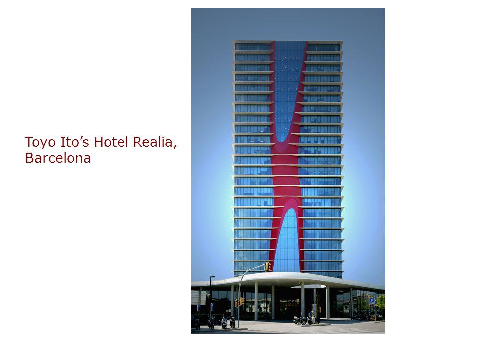 Toyo Ito's Hotel Realia, Barcelona