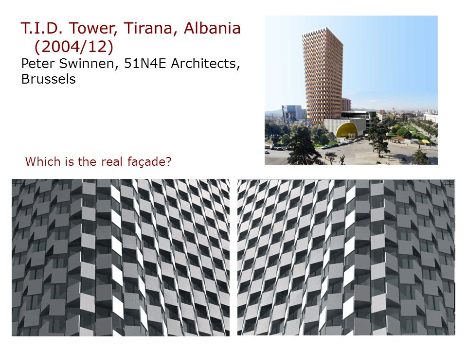 T.I.D. Tower, Tirana, Albania (2004/12)