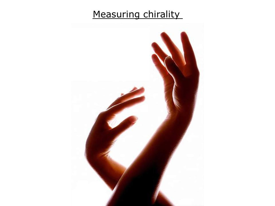 Measuring chirality