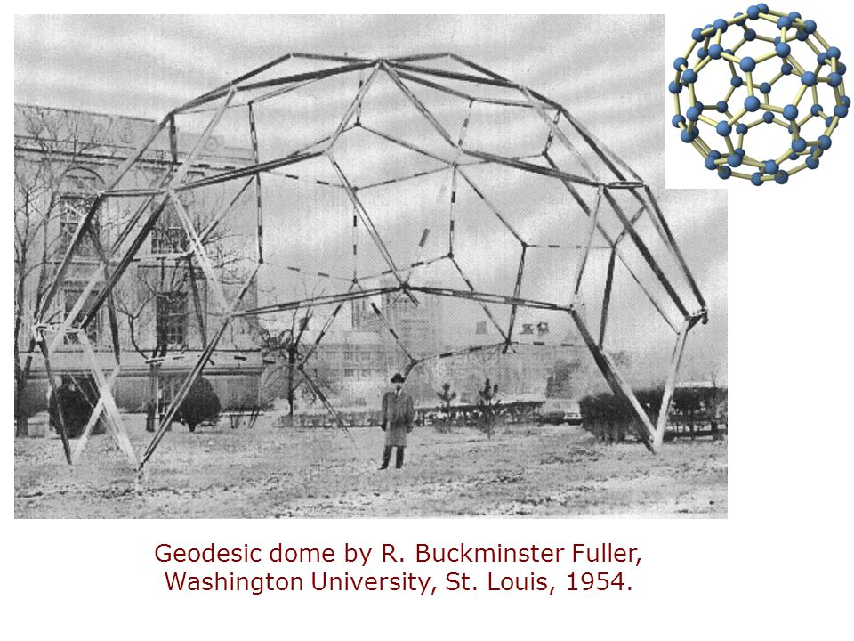Geodesic dome by R. Buckminster Fuller,