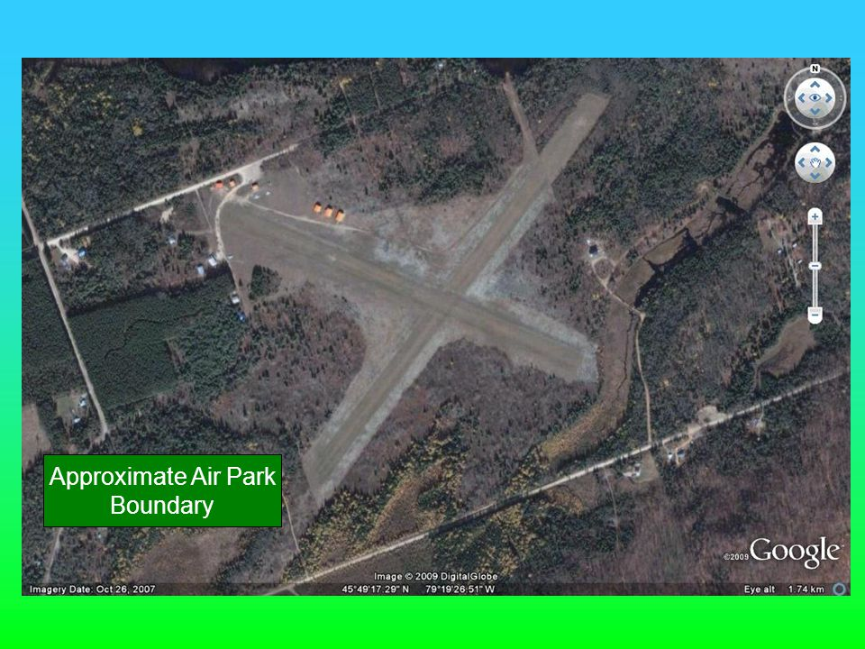 Approximate Air Park Boundary