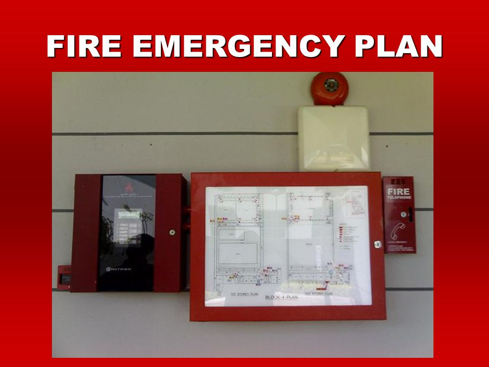 FIRE EMERGENCY PLAN