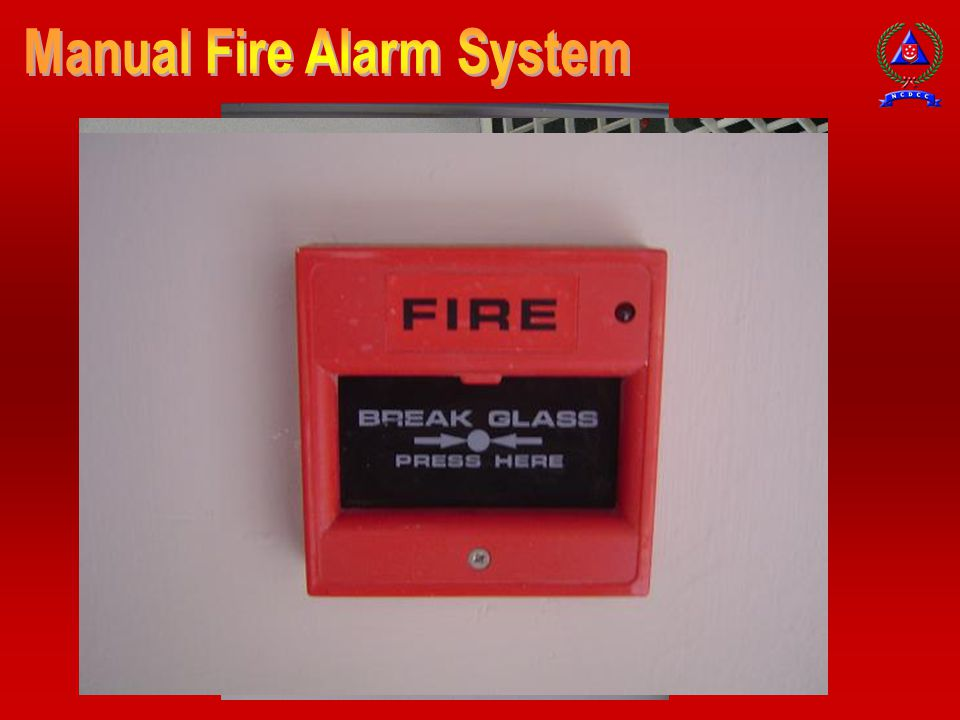 Manual Fire Alarm System
