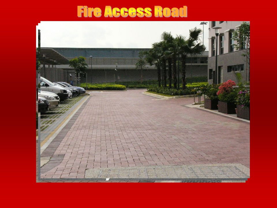 Fire Access Road