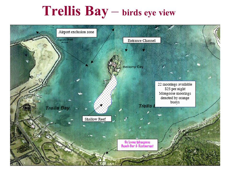 Trellis Bay – birds eye view