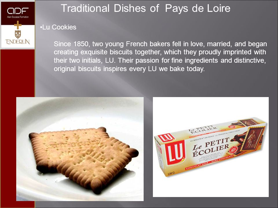 Traditional Dishes of Pays de Loire