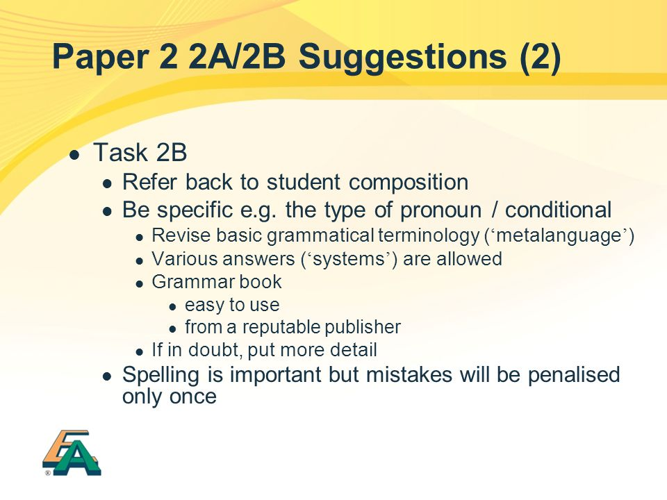 Paper 2 2A/2B Suggestions (2)