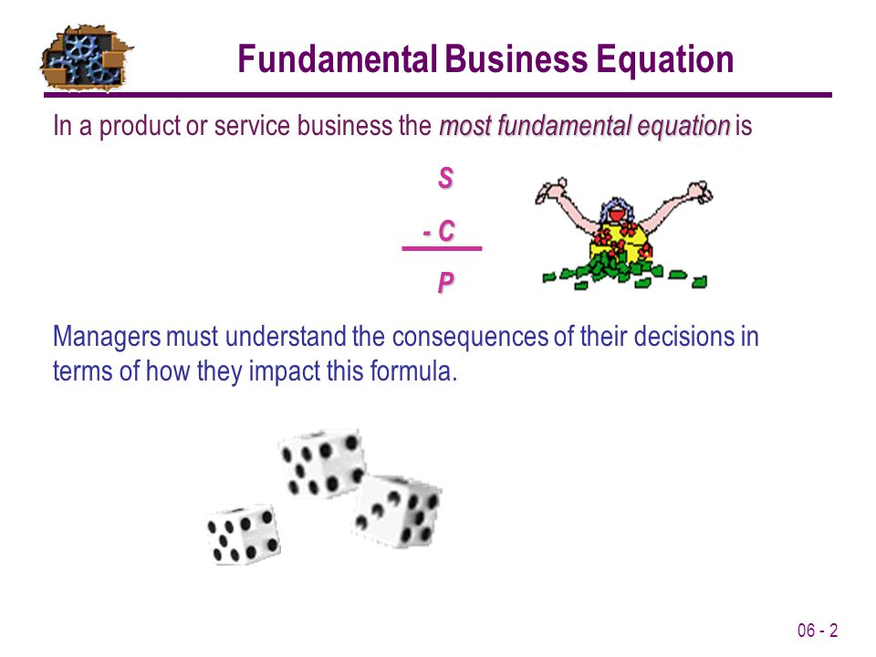 Fundamental Business Equation