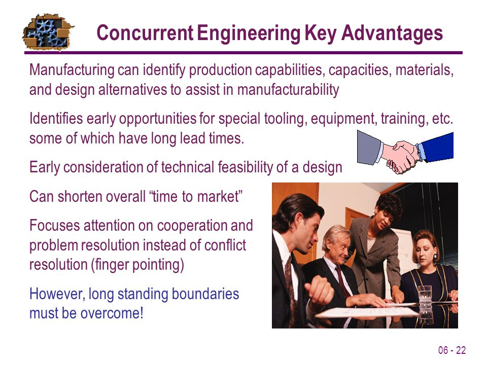 Concurrent Engineering Key Advantages