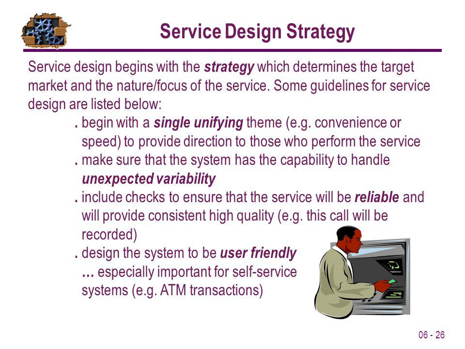 Service Design Strategy