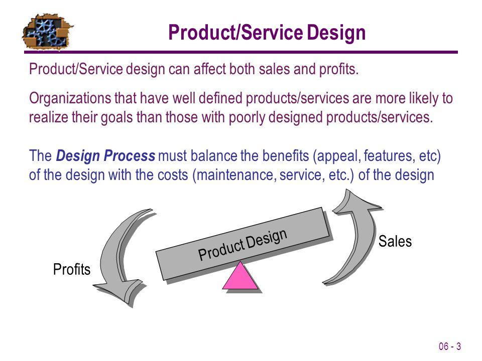Product/Service Design