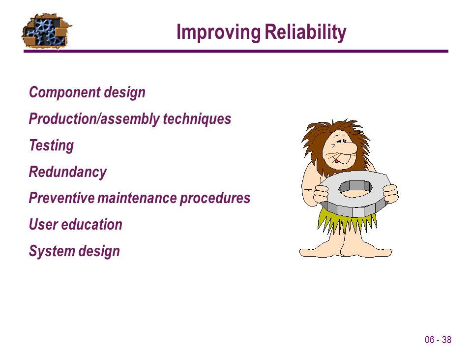 Improving Reliability