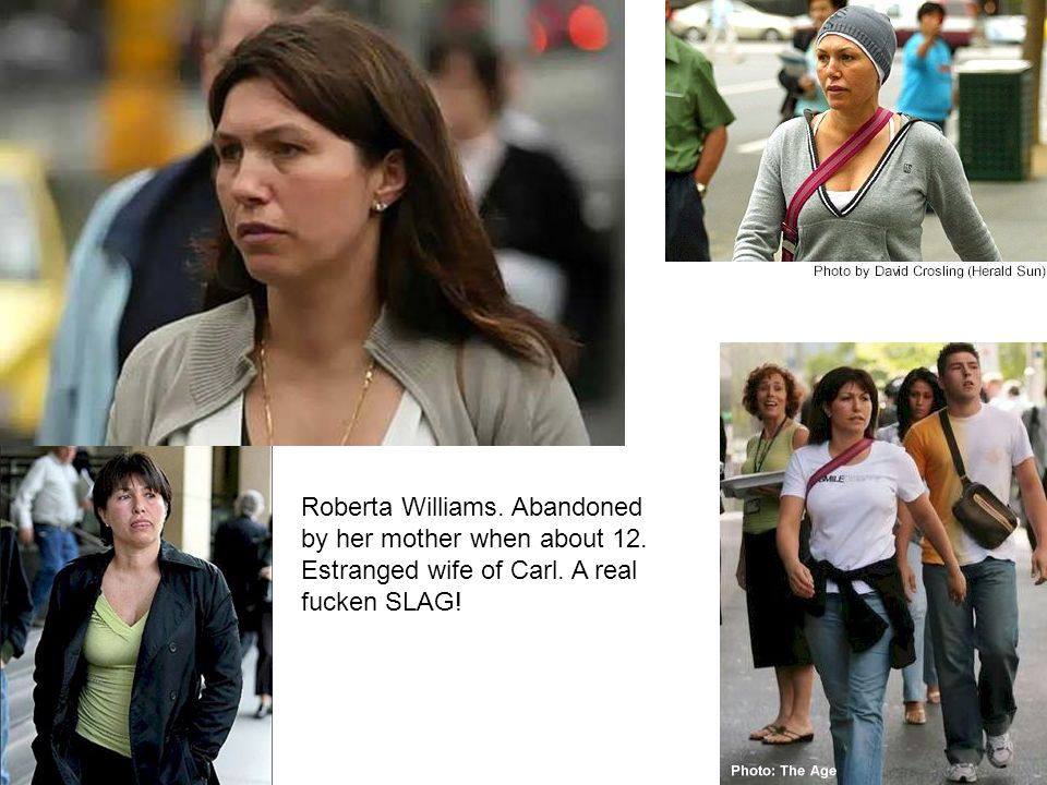 Roberta Williams. Abandoned by her mother when about 12