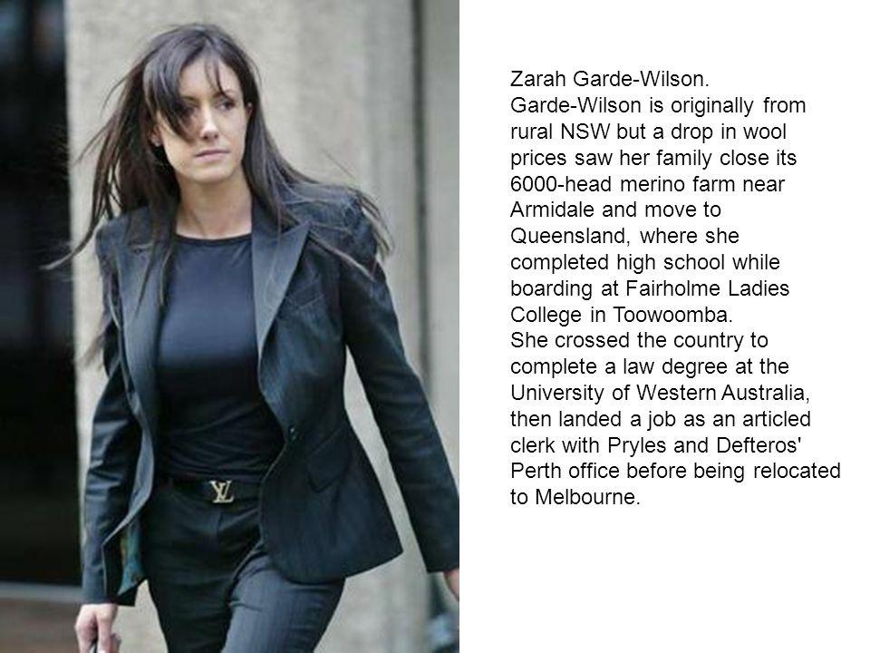 Zarah Garde-Wilson.