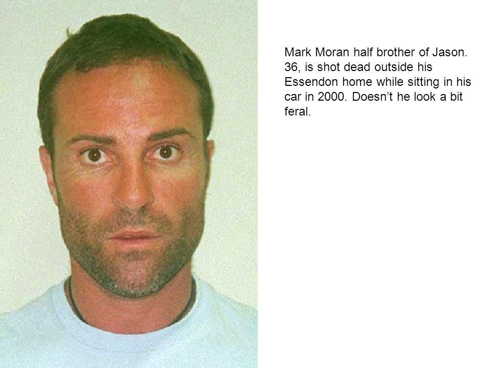 Mark Moran half brother of Jason.