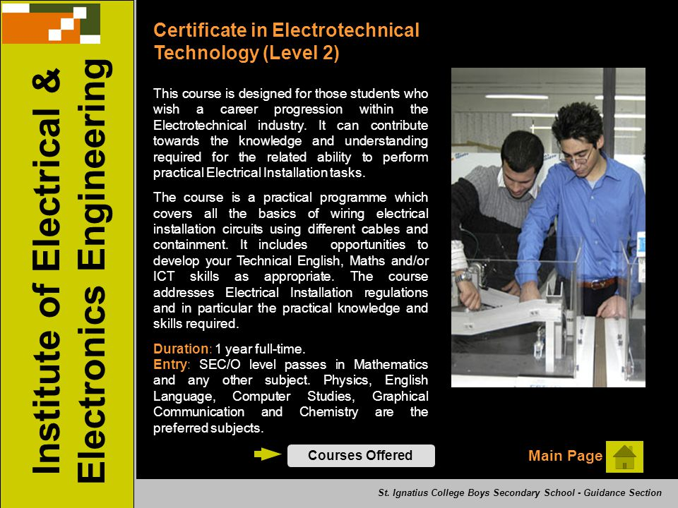 Institute of Electrical & Electronics Engineering