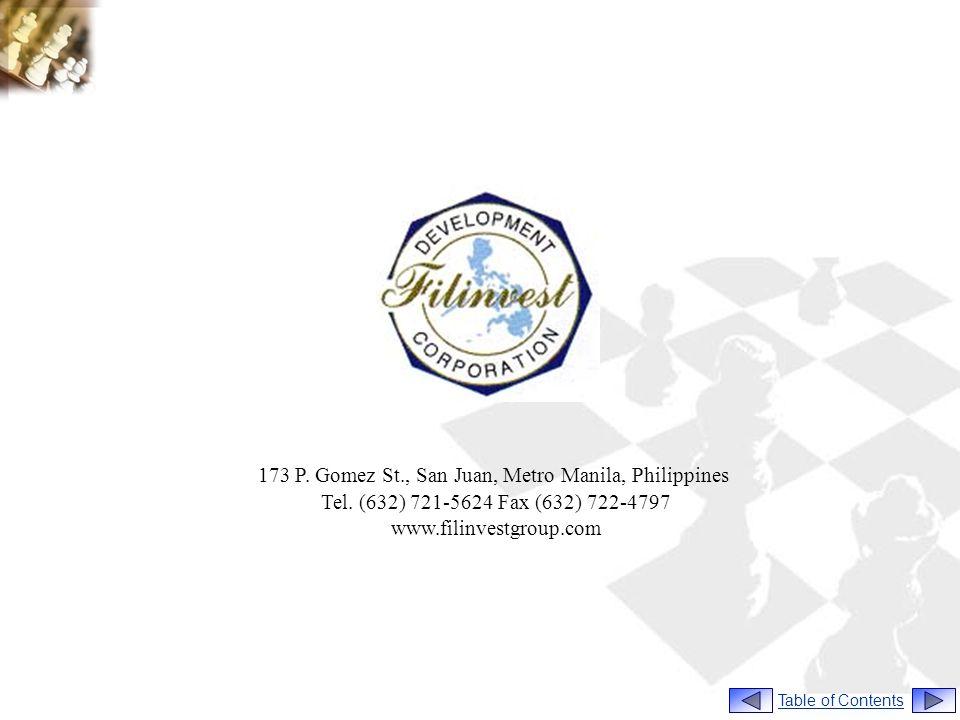 173 P. Gomez St., San Juan, Metro Manila, Philippines