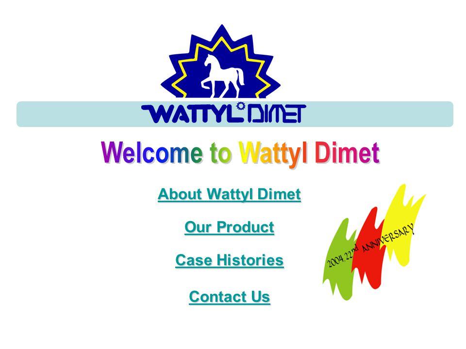 Welcome to Wattyl Dimet
