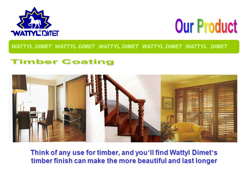 Our Product Timber Coating