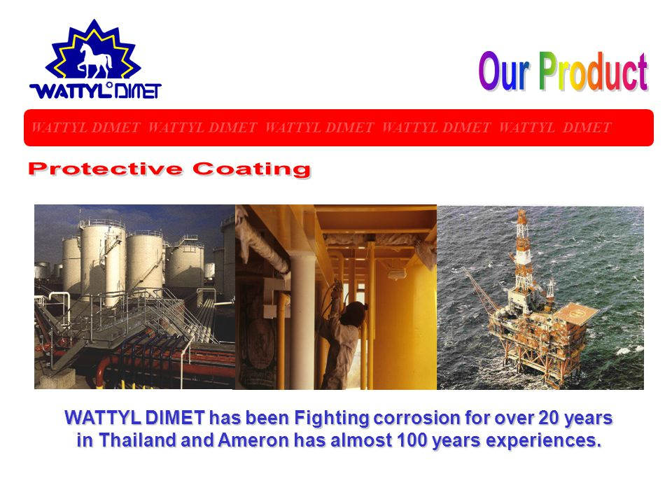 Our Product Protective Coating