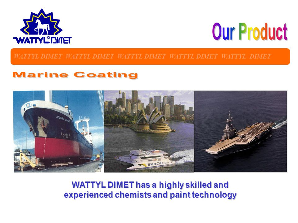 Our Product Marine Coating
