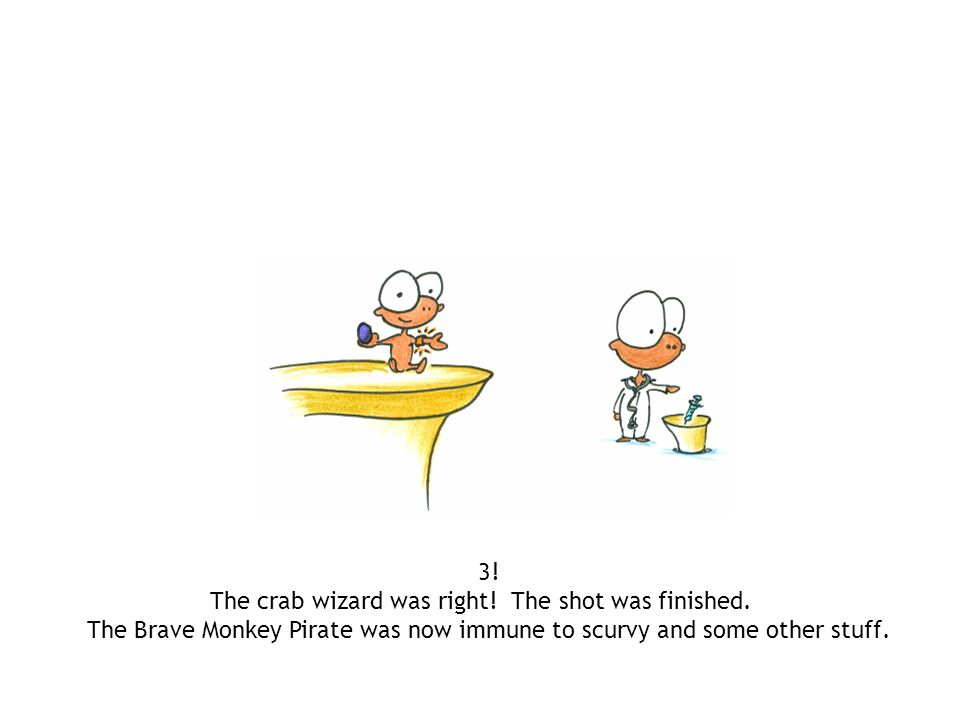 The crab wizard was right! The shot was finished.