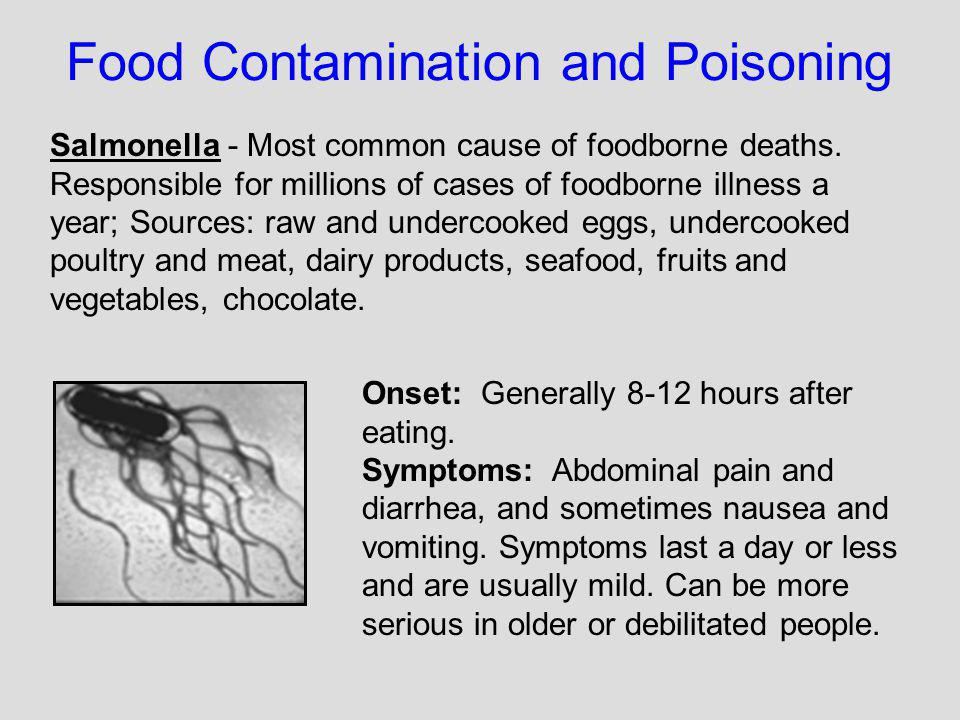 Food Contamination and Poisoning