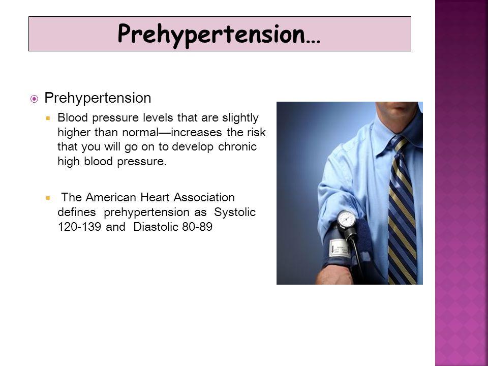 Prehypertension… Prehypertension