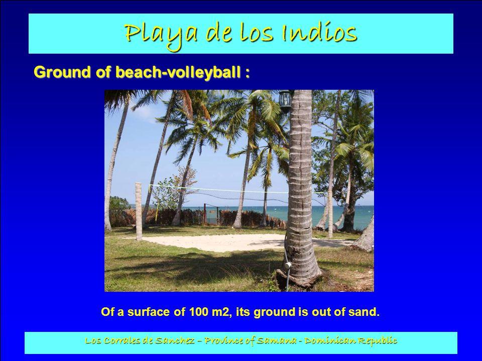 Ground of beach-volleyball :