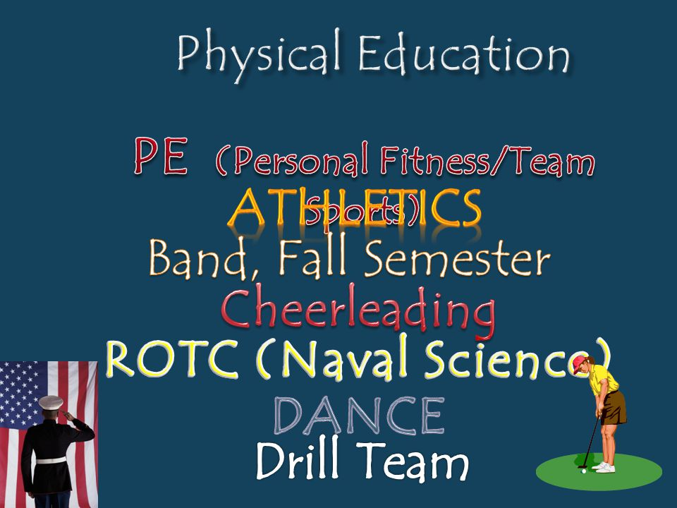 PE (Personal Fitness/Team Sports)