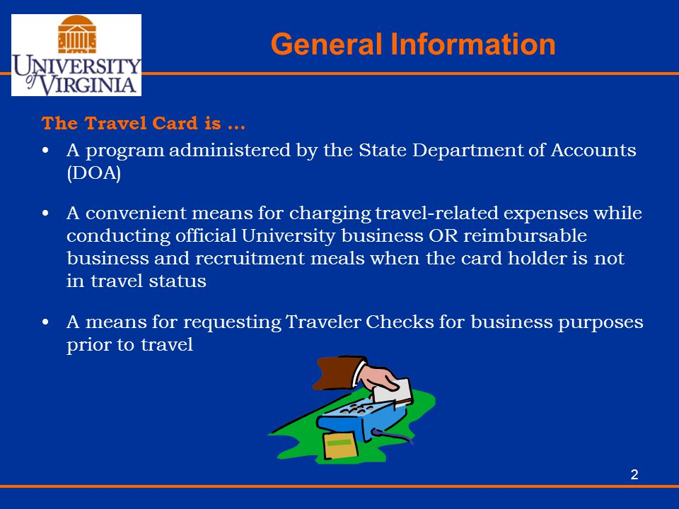 General Information The Travel Card is …