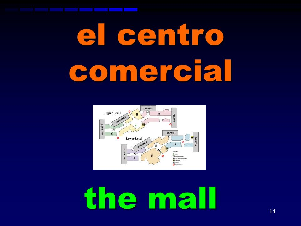 el centro comercial the mall