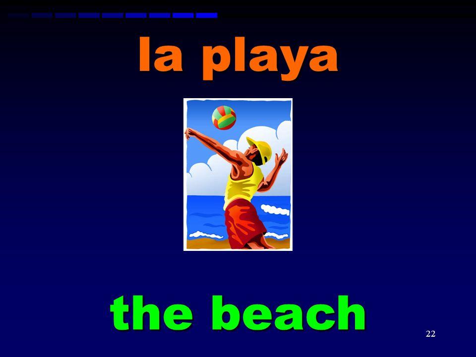 la playa the beach