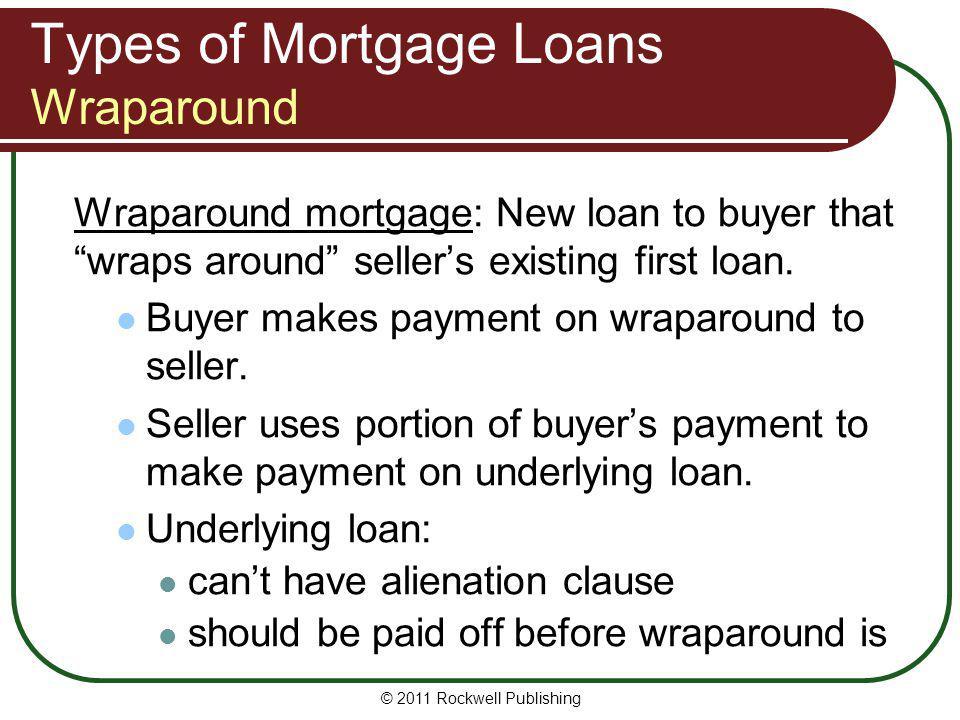 Types of Mortgage Loans Wraparound