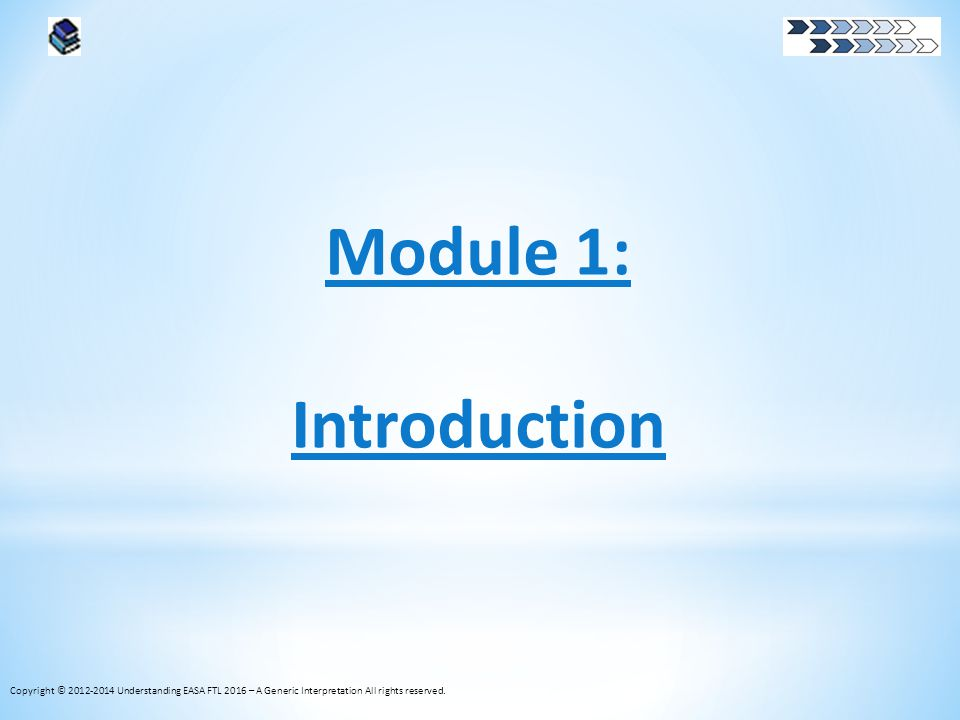 Module 1: Introduction What is the FNPRM