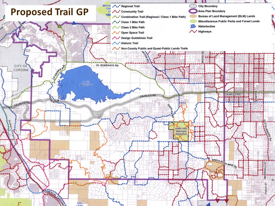 Proposed Trail GP