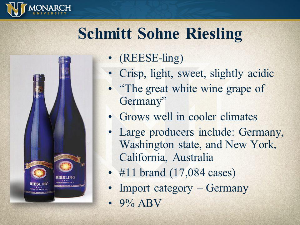 Schmitt Sohne Riesling