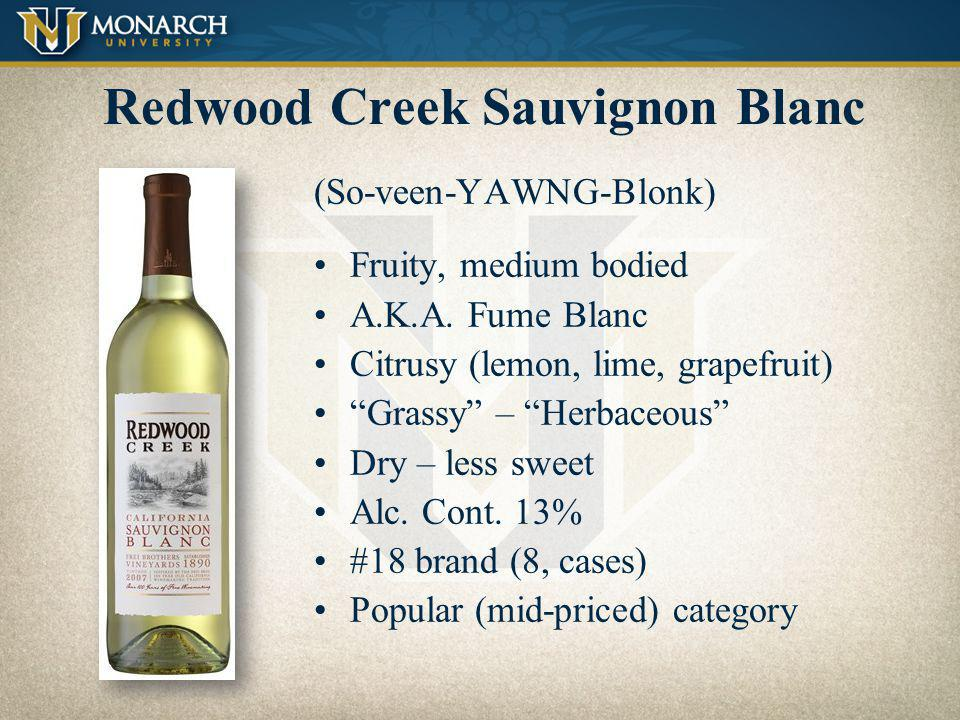 Redwood Creek Sauvignon Blanc