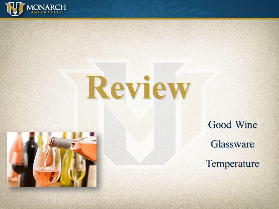 Review Good Wine Glassware Temperature