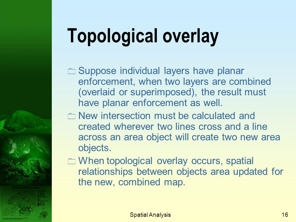 Prof. Qiming Zhou Topological overlay.