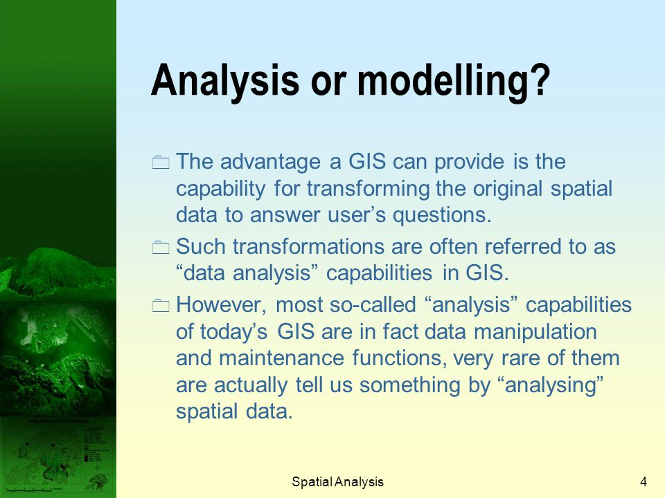 Prof. Qiming Zhou Analysis or modelling